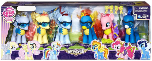 My Little Pony Friendship is Magic Wonderbolts Collection Exclusive 6-Inch Figure 5-Pack