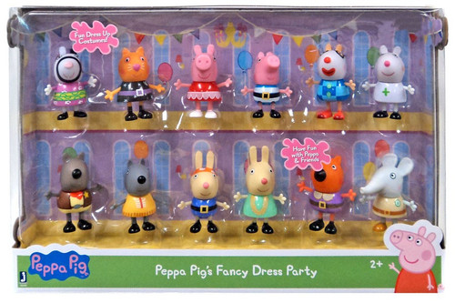 Peppa Pig Fancy Dress Party Exclusive Figure 12-Pack