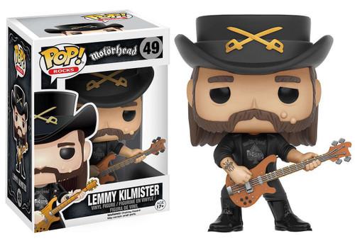 Funko Motorhead POP! Rocks Lemmy Kilmister Vinyl Figure #49