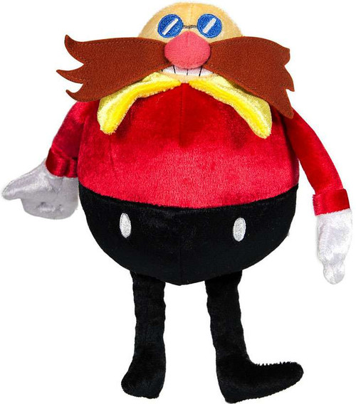 Sonic The Hedgehog 25th Anniversary Dr. Eggman 8-Inch Plush