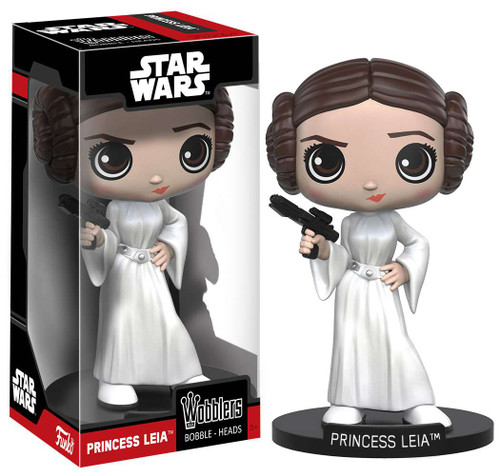 Funko Star Wars Wobblers Princess Leia Bobble Head