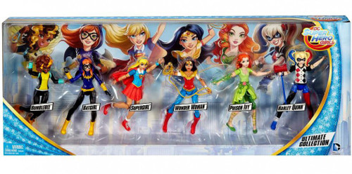 DC Super Hero Girls Ultimate Collection Action Figure 6-Pack