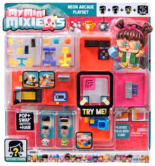 My Mini MixieQ's Series 1 Neon Arcade Playset