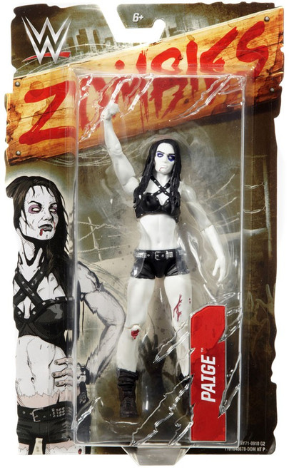 WWE Wrestling Zombies Paige Action Figure