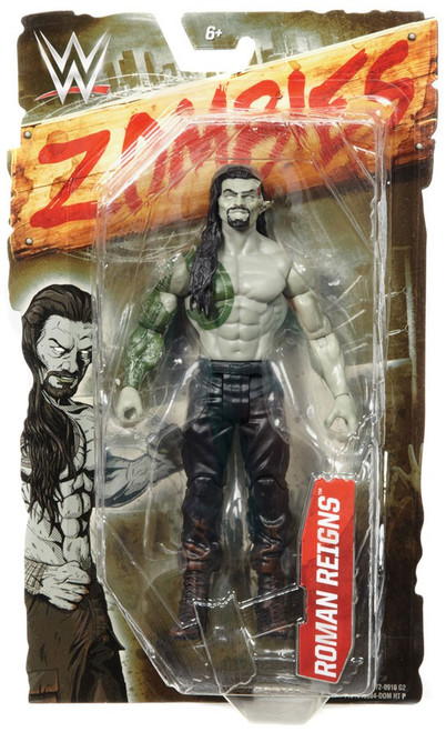 WWE Wrestling Zombies Roman Reigns Action Figure