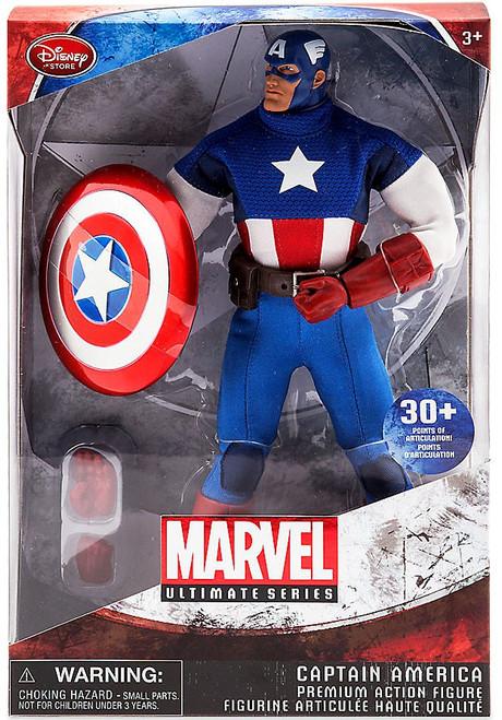 Marvel Ultimate Series Captain America Exclusive Premium Action Figure