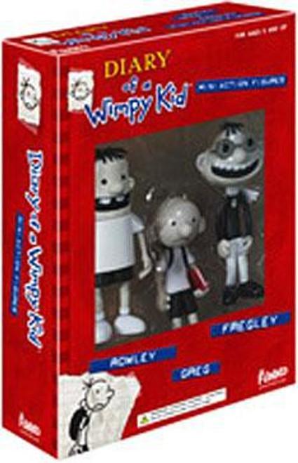 Funko Diary of a Wimpy Kid Greg, Rowley & Fregley Mini Figure 3-Pack