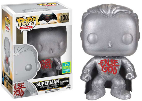 Funko DC Batman v Superman: Dawn of Justice POP! Movies Superman Exclusive Vinyl Figure #130 [False God]