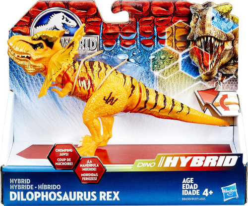 Jurassic World Bashers & Biters Hybrid Dilophosaurus Rex Action Figure