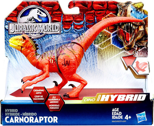 Jurassic World Bashers & Biters Hybrid Carnoraptor Action Figure