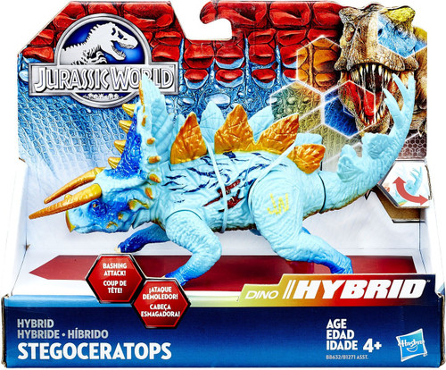 Jurassic World Bashers & Biters Hybrid Stegoceratops Action Figure