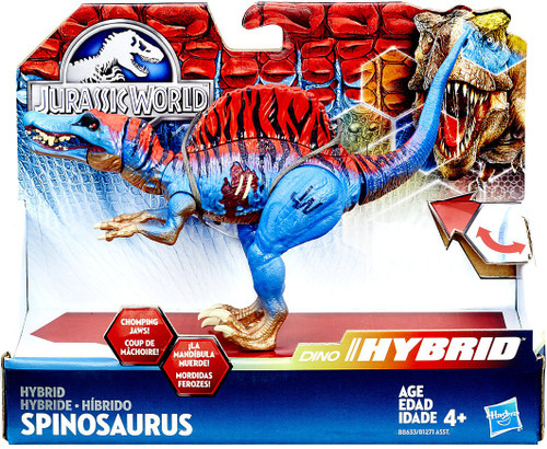 Jurassic World Bashers & Biters Hybrid Spinosaurus Action Figure