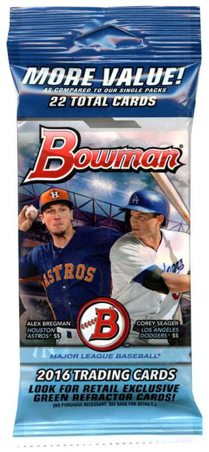 MLB Topps 2016 Bowman Baseball Cards Trading Card Value Pack