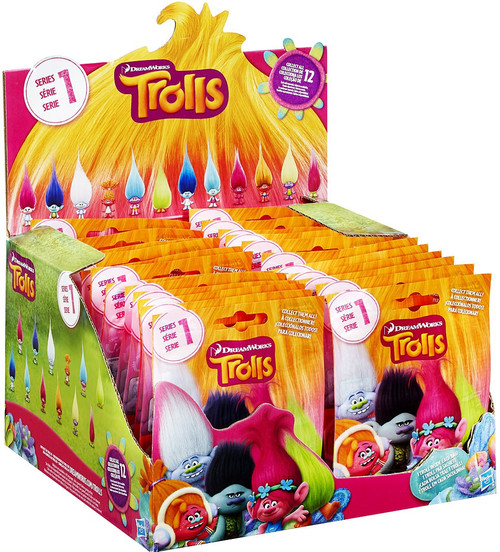 Trolls Series 1 Mystery Box [24 Packs]