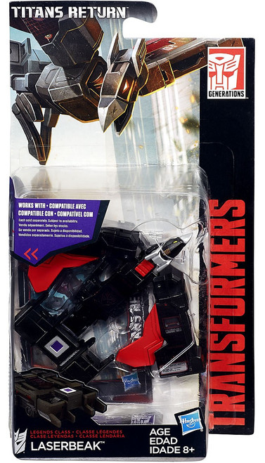 Transformers Generations Titans Return Laserbeak Legend Action Figure
