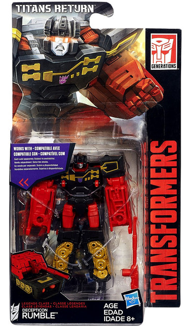 Transformers Generations Titans Return Rumble Legend Action Figure