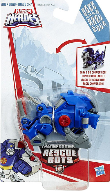 Transformers Playskool Heroes Rescue Bots Valor the Lion Bot Action Figure