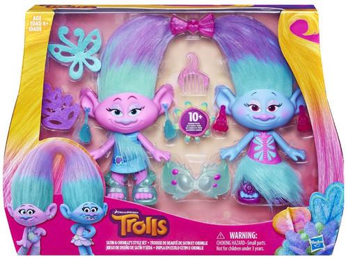 Trolls SATIN & CHENILLES Style Set