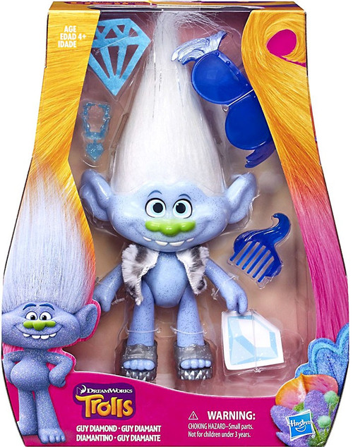 Trolls Guy Diamond 9-Inch Figure Doll