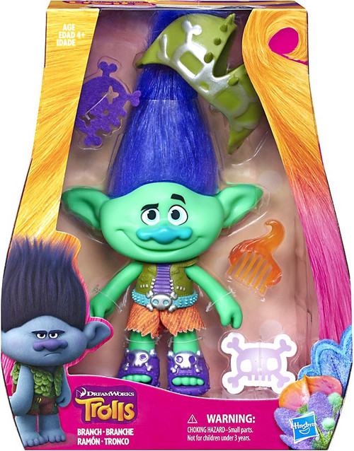 Trolls Branch 9-Inch Figure Doll