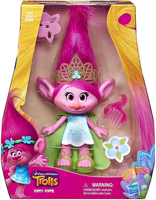 Trolls Poppy 9-Inch Figure Doll