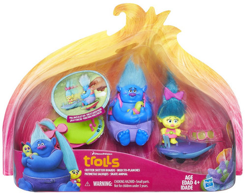 Trolls Critter Skitter Boards Figure Set