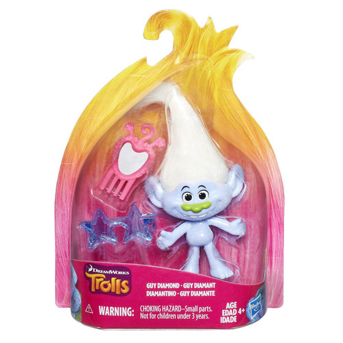 Trolls Troll Town Guy Diamond Collectible Figure