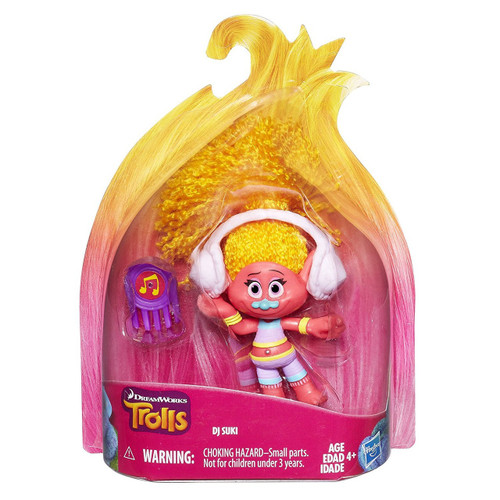 Trolls Troll Town DJ Collectible Figure