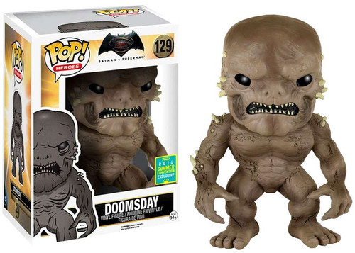 Funko DC Batman v Superman: Dawn of Justice POP! Movies Doomsday Exclusive 6-Inch Vinyl Figure #129 [Super-Sized]