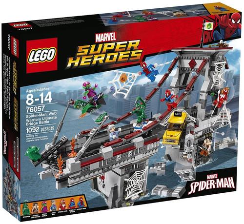 LEGO Marvel Super Heroes Spider-Man: Web Warriors Ultimate Bridge Battle Set #76057