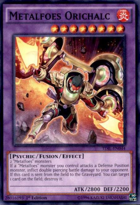 YuGiOh The Dark Illusion Common Metalfoes Orichalc TDIL-EN044