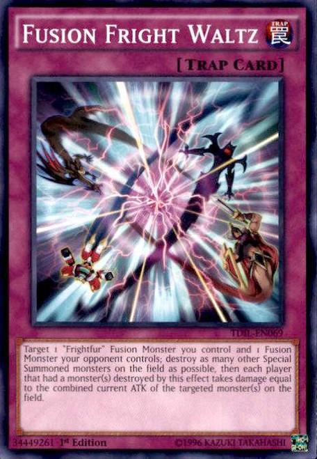 YuGiOh The Dark Illusion Common Fusion Fright Waltz TDIL-EN069