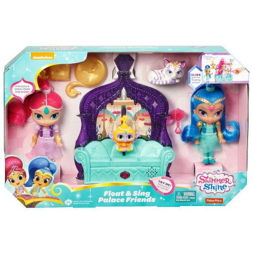 Fisher Price Shimmer & Shine Float & Sing Palace Friends Exclusive Playset