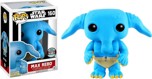 Funko POP! Star Wars Max Rebo Exclusive Vinyl Bobble Head #160 [Specialty Series]