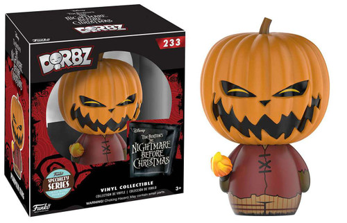 Funko Nightmare Before Christmas Dorbz Pumpkin King Exclusive Vinyl Figure #233 [Specialty Series]
