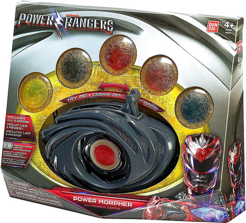 Power Rangers Movie Power Morpher with Power Coin Roleplay Toy