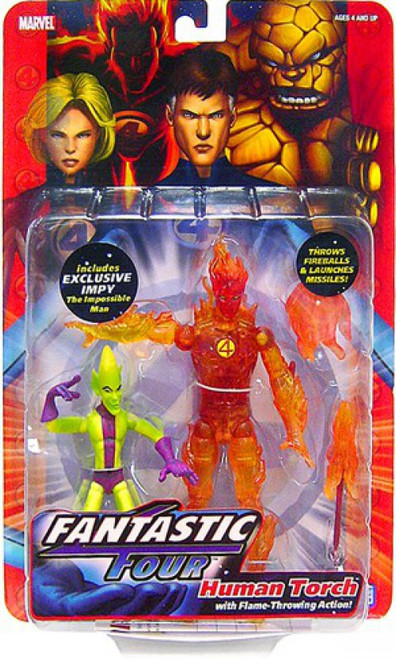 Marvel Fantastic Four Series 1 Human Torch Action Figure