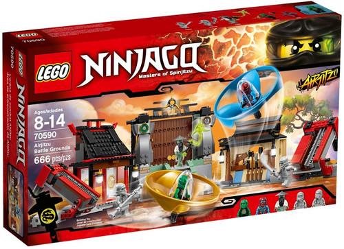 LEGO Ninjago Airjitzu Battle Grounds Exclusive Set #70590