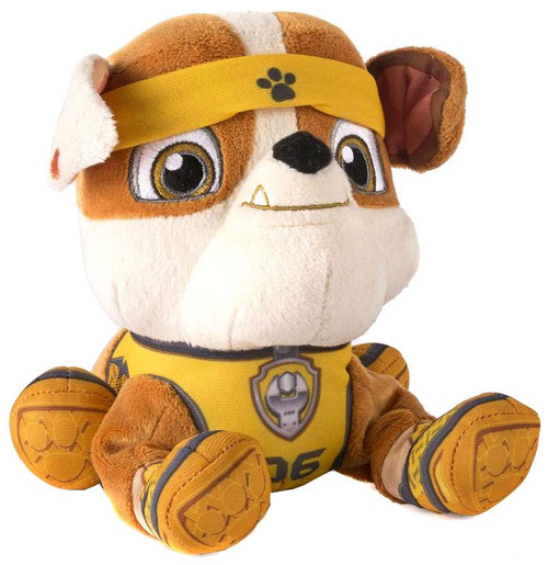 Paw Patrol All Stars Rubble Exclusive 7-Inch Plush