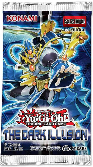 YuGiOh Trading Card Game The Dark Illusion Booster Pack [9 Cards]