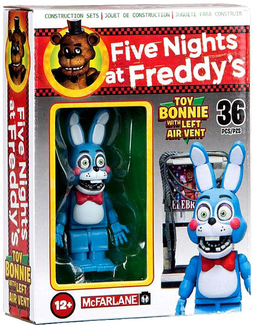 McFarlane Toys Five Nights at Freddy's Toy Bonnie with Left Air Vent Micro Figure Build Set