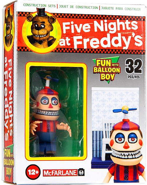McFarlane Toys Five Nights at Freddy's Fun with Balloon Boy Micro Figure Build Set