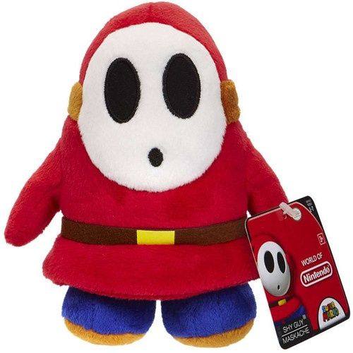 World of Nintendo Super Mario Shy Guy 6-Inch Plush
