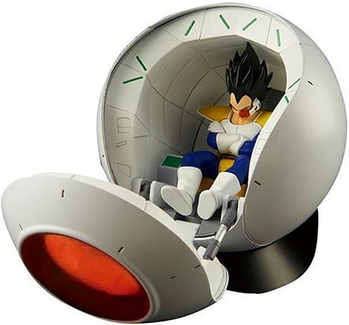 Dragon Ball Z Figure Rise Saiyan Space Pod 6.3-Inch Standard Model Kit