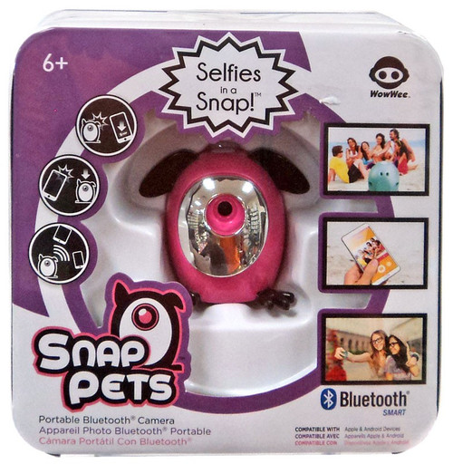 Snap Pets Rabbit Pink Camera