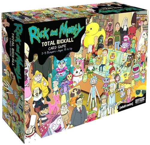 Rick & Morty Total Rickall Card Game