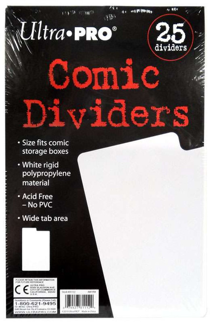 Ultra Pro Comic Supplies Comic Dividers [25 Count]