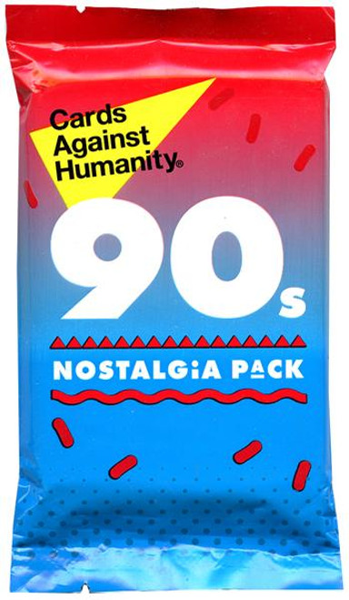 Cards Against Humanity 90's Nostalgia Pack Card Game Expansion