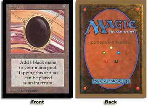MtG Collector's Edition Mox Jet [Not Tournament Legal]