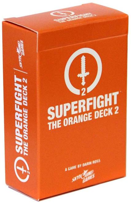 Superfight! Orange 2 Geeky Card Game Expansion Deck